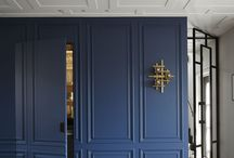 wainscoting, moldings, architectural details
