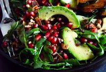 Food - Vegan Salads & Not-So-Salads