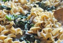 Food - Vegan Pasta (and Not-Pasta) Dishes