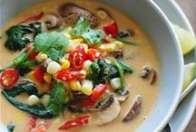 Soups / Soups are nourishing and delicious, plus they are cost-effective and accommodate lots of dietary needs.