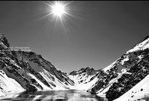 Mountains // Black & White