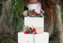 Winter weddings / Are you dreaming of a White Christmas (wedding)?  Or is a rustic affair with pinecones everywhere more your style? From sparkling snowflake cakes to festive red high heels you're sure to find inspiration for your winter wedding right here!