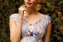 Summer in Bloom | Tiffany Rose / Florals aren't just for the Chelsea Flower Show - step out in style this summer with floral prints, jewellery and accessories. Perfect for garden parties and long summer evenings.