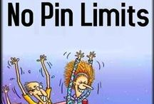 No Pinning Limits :) / I pin a lot, ridiculously much when I get into it. My boards are available to anyone to get into that mode on, you can pin as much as you like! :) / by Áhugamálin Mín