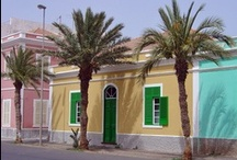 Cape Verde Colonial Houses / Lovely cottages and larger buildings remain from the old days when the Portuguese were in Cape Verde. #CapeVerde #TeamCapeVerdean #TeamFunana #NoStress