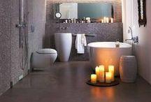 Vonios kambarys / Dizaino idėjos vonios kambariui.