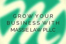 Small Business Planning / Grow your business with MassieLawPLLC.com, start here with some helpful info.