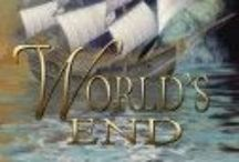 World's End (Tied by Fate Volume 1) / Centered around volume 1 of the Tied by Fate series, World's End begins with Kiyoshi's questions about the place he's found himself in, and the quiet Welshman he shares it with, Shelly Gwynne. As they are torn apart, Kiyoshi begins to understand that they are, in fact, unable to be kept apart.  fantasy, romance, LGBT, m/m romance, yaoi, pirates, gay contemporary, Japanese, Wales, HEA