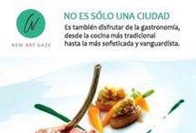 GASTRONOMÍA / En este tablero podrás ver una selección de imágenes de los diferentes restaurantes en los que podrás disfrutar con el paladar de la mano de NAG.
