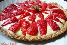torte con frutta / by EMILIA ZURLA