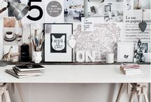 | W O R K   S P A C E | / Beautiful work spaces for working in and being creative!!