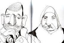 other peoples sketchbooks