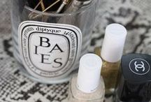 Beauty accessories / Diptyque, Chanel...