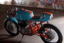 CAFÈ RACER & BIKE / Motorcycles of all kind that I like, but most of all Cafè Racer motorcycles that are just full of life! / by Lux Von Alchemy