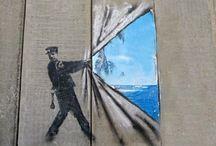 Street & chalk art / Illusion