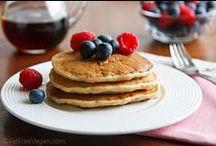 vegan oil free pancakes