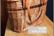 Wicker - willow- baskets - KOSÁR - kosar - weidenkorb - osier - cesta de mimbre - rieten mand - fletkurv- pajukori - cos rachita - weiden - pil - / Things made out of wicker and similar materials. Preferring baskets.