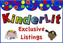 KinderLit #3 / Exclusive Listings from KinderLit / by The Harstad Collection