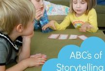 Kids Storytelling Activities / Incorporate storytelling into the daily activities of your kids.