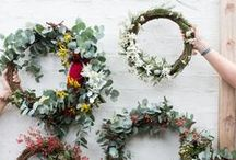 Wreath making and inspiration