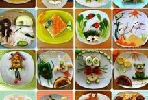 Comida para niños / by Paty Castellanos Robles