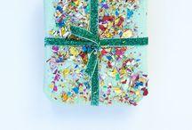 Envolturas para regalo! / by Paty Castellanos Robles