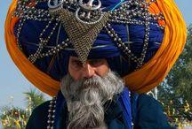 Men in traditional dress