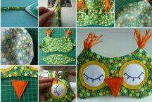 KK Krafts: Sew ● Small Projects / Small and easier sewing projects that Mis-chief intends to embark on in the near future .