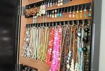 Smarty Org: Ties, Belts, Scarves, Accessories / ideas for organizing ties, belts, scarves, accessories ...