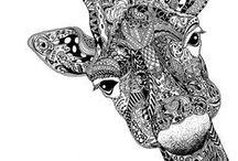 KK Krafts: Art:  Zentangle