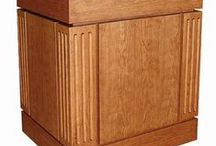 MFI Custom Lecterns / Featuring a wide array of styles, from Prairie style to Applied Molding style.