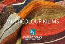 Kilims - Multi Colour / http://sourcemondial.co.nz/rugs/kilims-flatweaves/colour/