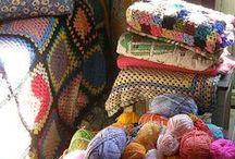 Crochet / Adoro le Granny Squares...è stata la mia nonna ad insegnarmi a farle <3