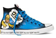 Converse Simpsons / Converse With Simpsons
