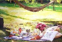 Picnic...le déjeuner sur l'herbe / pranzo all'aperto...nella natura