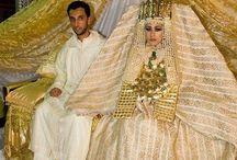 Traditional Weddingcostumes / Traditional weddingcostumes, male and female