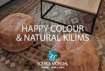 Happy & Natural Colours Kilims