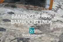 Bamboo Silks & Silk Blends / Hand-crafted to endure for generations to come, each exquisite piece really does warrant viewing in person, so that the quality, subtle enduring beauty and lustre can be truly appreciated.