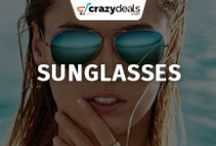 Men & Women Sunglasses,  Eyewear - Crazydeals / Improve your vision and make a unique fashion statement. Crazydeals Men & Women Sunglasses, Eyewear board provide you the latest addition of sunglasses to stand out of the crowd.