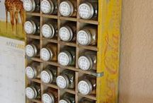 Smarty Org: Kitchen . Organization . Dishes, Spices and All / pixs, tips and where to buy