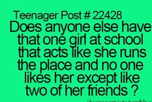 Teenager Posts / by Monique Beas