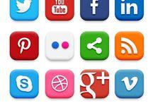 free sociale media icons / Social media icons