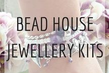 Bead House Jewellery Kits / Create your own handmade jewellery at home with ease!