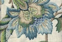 Crewel Embroidery / Jacobean Embroidery.