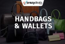 Handbags & Wallets - Crazydeals / Carry your stuff in style, Find your new favorite handbag and wallet on crazydeals board