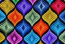 Bargello. / Bargello Embroidery