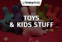 Toy :  Kids and Baby Stuff / Find everything from prams and pushchairs to toys and cots for your kids on crazydeals Kids and Baby Stuff board.