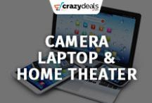Electronics - Camera, Laptop, Home Theater - Crazydeals / Whether you are looking for a tool to capture precious moments, or looking for a laptop to boost your work performance, or you want to bring home theatre experience to your home. Crazydeals board will provide solution to all your needs!
