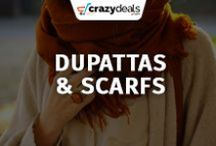 Dupattas, Scarfs & Shawls - Crazydeals / Compliment your look with by wearing season's most classy dupattas, scarf and shawls. Visit our board for most recent addition.