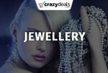Jewellery - Crazydeals / Give a finishing touch to your style by wearing glamorous jewellery. Take a look at the most fascinating designs of famous brands on crazydeals board.